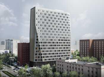 Общий вид на комплекс апартаментов Life&Activity